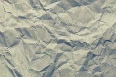 Crumpled vintage paper texture background. Stock Photos