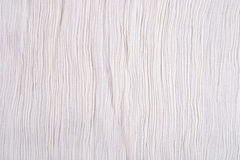 Crumpled white fabric background Royalty Free Stock Photo
