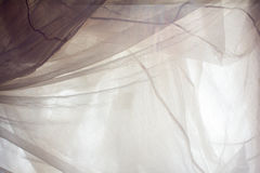 Crumpled white fabric cloth texture Royalty Free Stock Photos