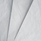 Crumpled white paper layers background Stock Photo