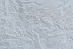 Crumpled white paper surface Stock Photos