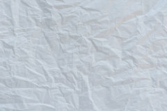 Crumpled white paper textured Royalty Free Stock Photography
