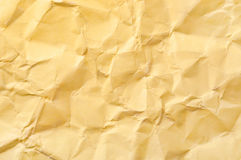 Crumpled wrapping paper Royalty Free Stock Photography
