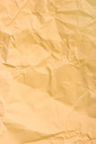 Crumpled wrapping paper Stock Image