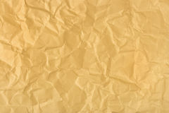Crumpled wrapping paper Royalty Free Stock Images