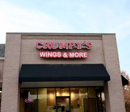 Crumpy`s Wings and More, Bartlett, TN Stock Photography