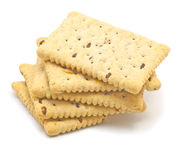 Crunchy biscuits Stock Image