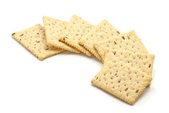 Crunchy biscuits Stock Images
