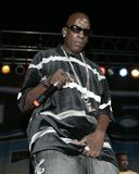 Crunchy Black performs in concert royalty free stock photos