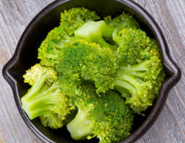 Crunchy Boiled Broccoli Royalty Free Stock Photography