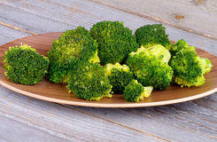 Crunchy Boiled Broccoli Royalty Free Stock Photo