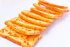 Crunchy bread with sugar Royalty Free Stock Image