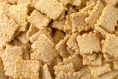 Crunchy breakfast cereals background Stock Image