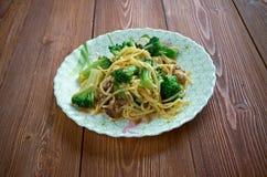 Crunchy Broccoli Salad Royalty Free Stock Photo