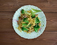 Crunchy Broccoli Salad Stock Images