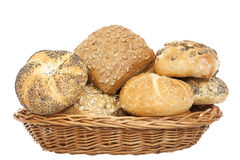 Crunchy bun Stock Image