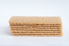 Crunchy cereal bread stock image