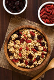 Crunchy Cereal with Dried Berries royalty free stock images
