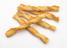 Crunchy Cheese Straws Royalty Free Stock Photography