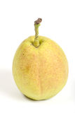 Crunchy chinese pear over white background Stock Image