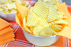 Crunchy chips Royalty Free Stock Image