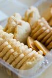 Crunchy cookies Stock Photos