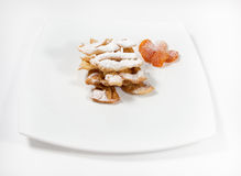 Crunchy cookies Stock Images