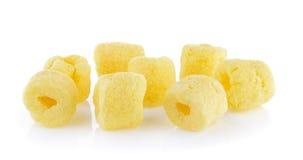 Crunchy corn snacks Royalty Free Stock Photos