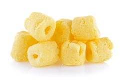 Crunchy corn snacks Royalty Free Stock Photography