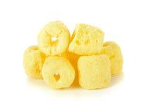 Crunchy corn snacks Royalty Free Stock Image