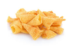 Crunchy corn snacks Stock Image