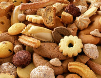 Crunchy fresh biscuits Royalty Free Stock Photos