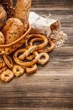 Crunchy fresh bun Stock Image