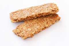 Crunchy granular bar whole grain Royalty Free Stock Images