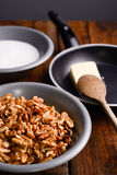 Crunchy ingredients Royalty Free Stock Photography