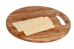 Crunchy integral toasted bread Royalty Free Stock Image