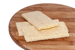 Crunchy integral toasted bread Royalty Free Stock Photography