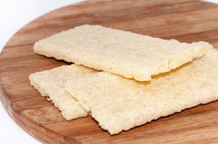 Crunchy integral toasted bread Stock Images