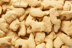 Crunchy Lemon Animal Cracker Cookies Stock Photo