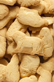 Crunchy Lemon Animal Cracker Cookies Royalty Free Stock Photos