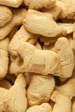 Crunchy Lemon Animal Cracker Cookies Royalty Free Stock Photos