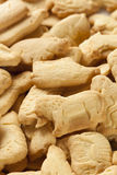 Crunchy Lemon Animal Cracker Cookies Royalty Free Stock Photography