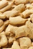 Crunchy Lemon Animal Cracker Cookies Royalty Free Stock Photography