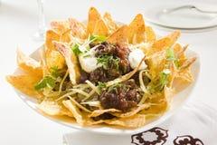 crunchy nachos вкусные стоковые изображения rf