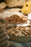 Crunchy nougat with honey Royalty Free Stock Images