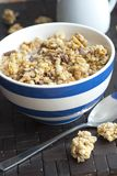 Crunchy nut clusters Royalty Free Stock Images
