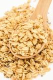 Crunchy oatmeal granola. Royalty Free Stock Photo