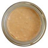 Crunchy peanut butter Stock Photo