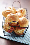 Crunchy popovers Stock Photography