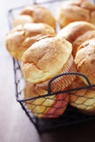 Crunchy popovers Royalty Free Stock Images